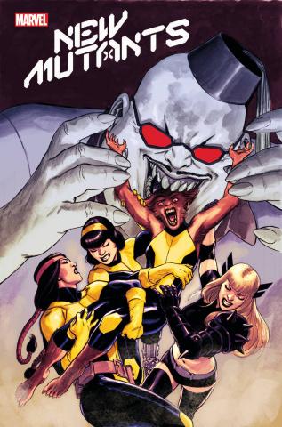 New Mutants #22 (Lopez Cover)