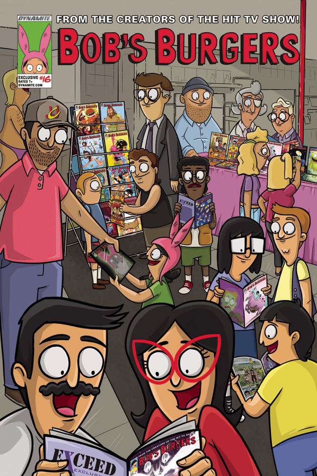 Bob's Burgers #16 (Limited Harbaugh Cover)