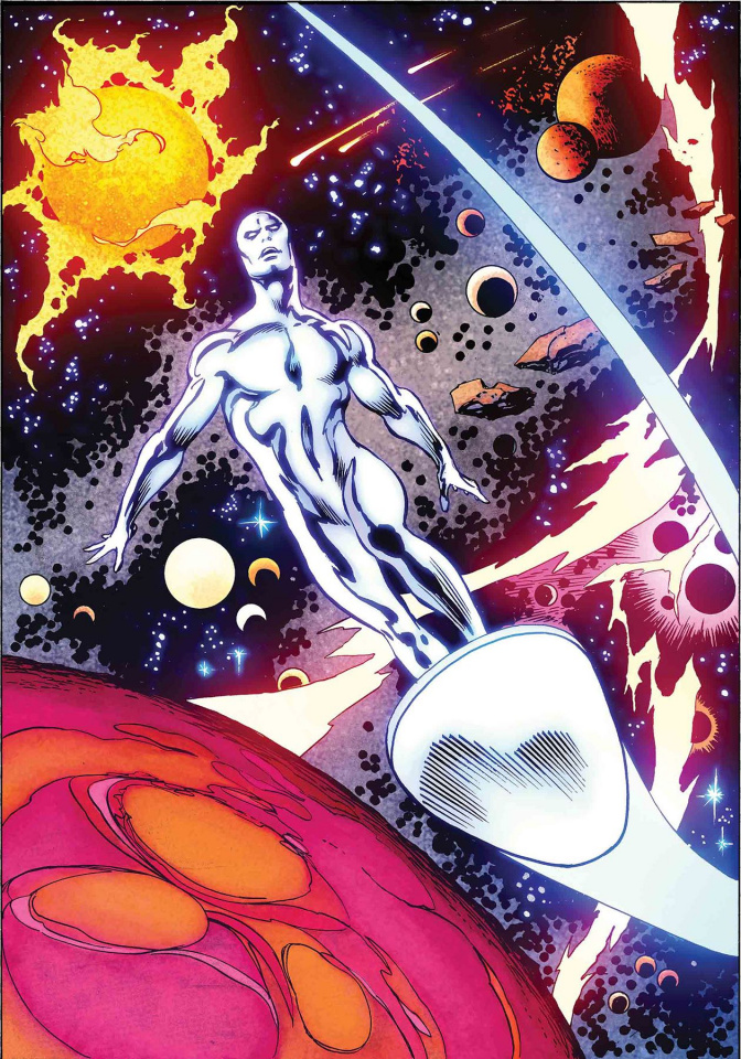 The Defenders: The Silver Surfer #1 (Buscema Remastered Cover)
