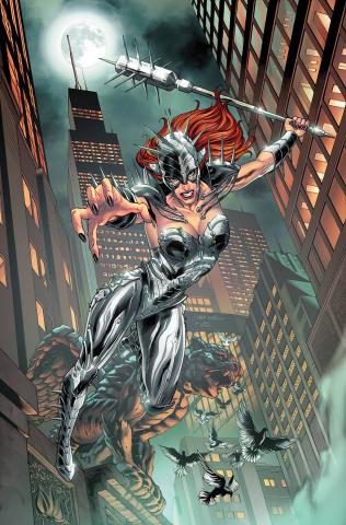 Robyn Hood: Iron Maiden #1 (Vitorino Cover)
