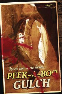 Peek a Boo #1 (Postcard Cover)