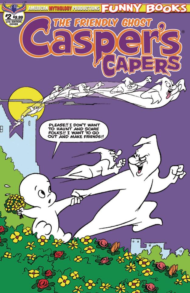 Casper's Capers #2 (Kremer Vintage Cover)