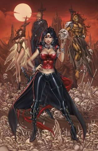 Grimm Fairy Tales: Realm War #7 (Pantalena & Mos Cover)