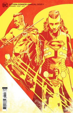 Action Comics 2021 Annual #1 (Valentine De Landro Card Stock Cover)