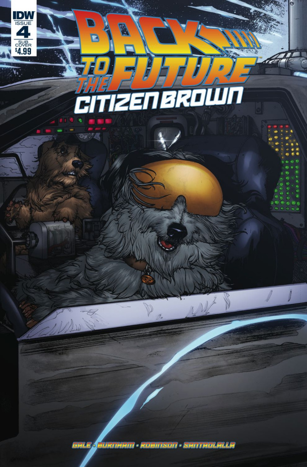 Back to the Future: Citizen Brown #4 (Subscription Cover)