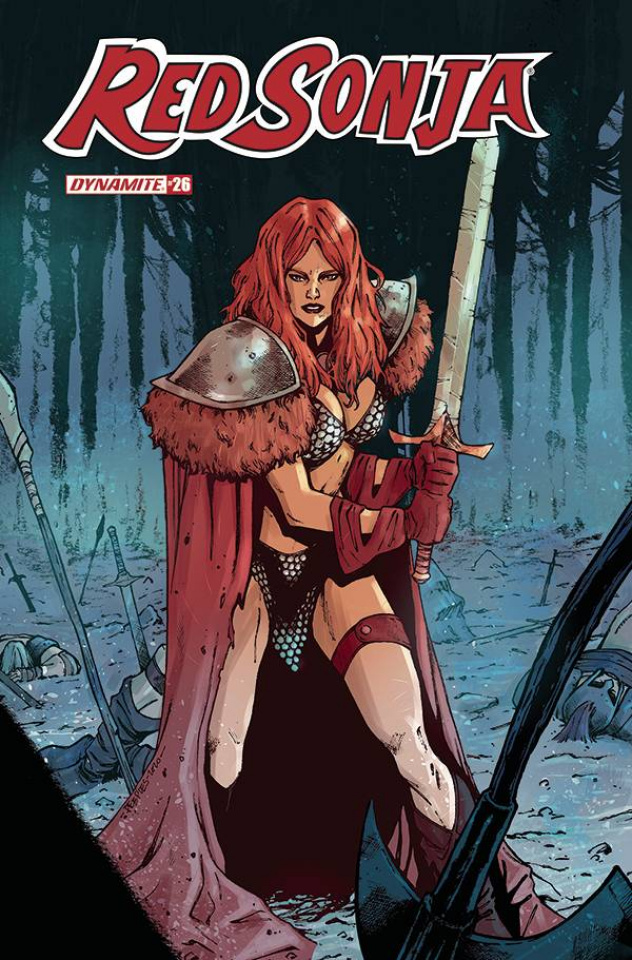 Red Sonja #26 (Peeples Cover)