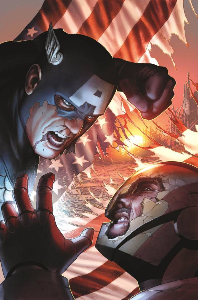 Civil War #1 (McNiven Cover)