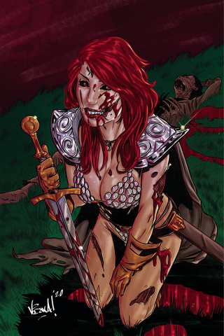 Red Sonja: The Superpowers #1 (20 Copy Federici Virgin Cover)