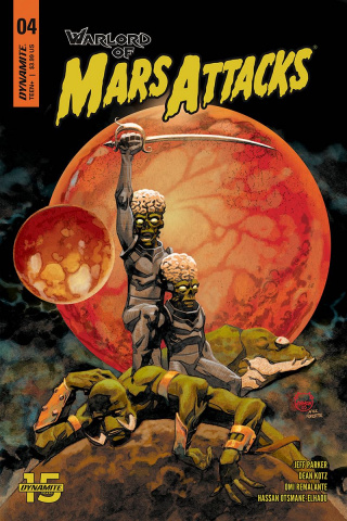 Warlord of Mars Attacks #4 (Johnson Cover)