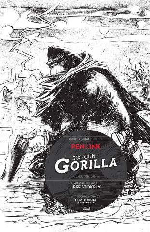 Six Gun Gorilla #1 (Pen & Ink Edition)