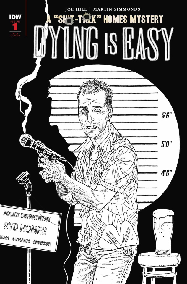 Dying Is Easy #1 (10 Copy B&W Rodriguez Cover)