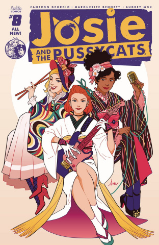 Josie and The Pussycats #8 (Audrey Mok Cover)
