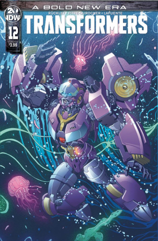 The Transformers #12 (Griffith Cover)