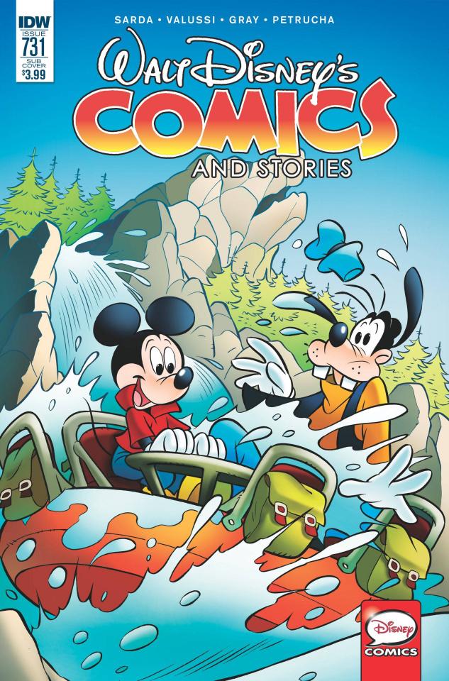 Walt Disney's Comics and Stories #731 (Subscription Cover)