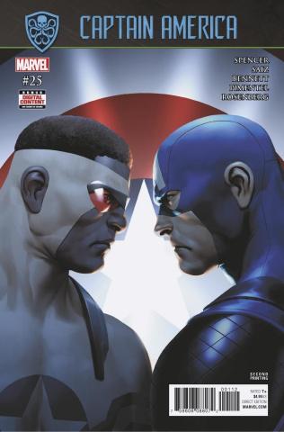 Captain America #25 (Saiz 2nd Printing)