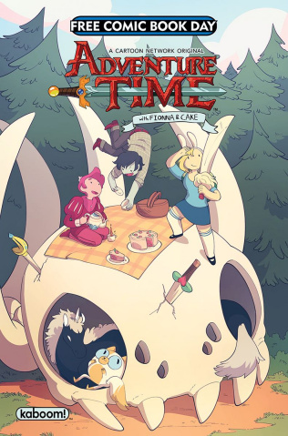 Adventure Time with Fionna & Cake FCBD 2018 Special