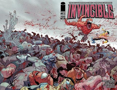 Invincible #100 (Ottley Cover)