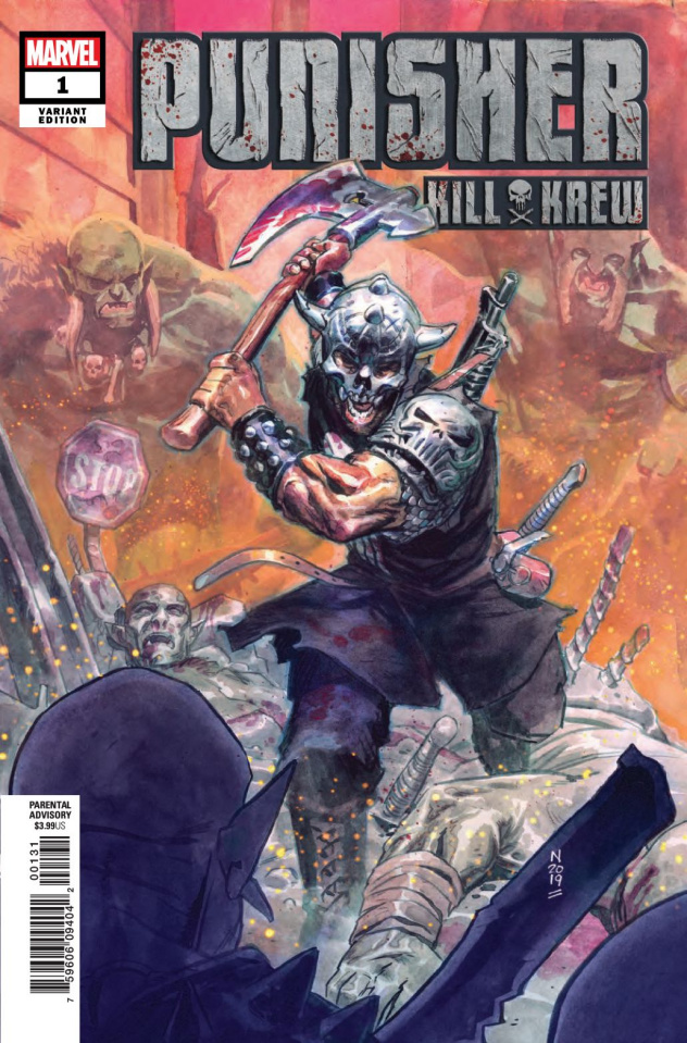 The Punisher: Kill Krew #1 (Klein Cover)