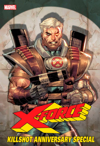 X-Force Killshot Anniversary Special #1 (Connecting F Cover)