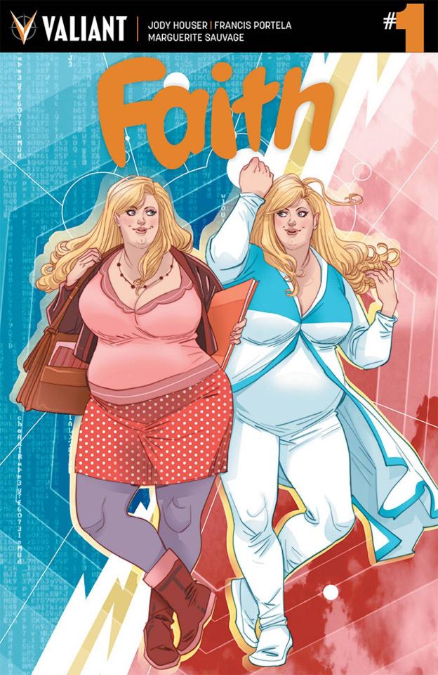 Faith #1 (Sauvage Cover)