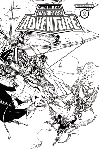 The Greatest Adventure #2 (30 Copy Castro B&W Cover)