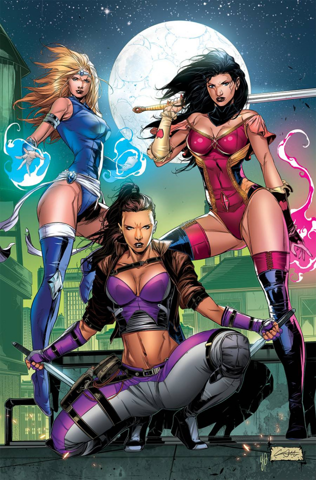 Grimm Fairy Tales #50 (White Cover)