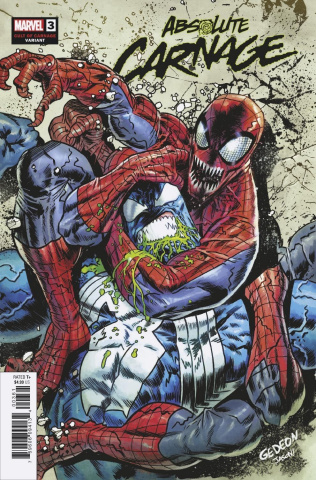Absolute Carnage #3 (Gedeon Cult of Carnage Cover)
