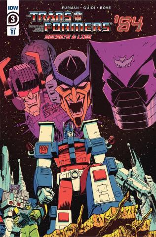 The Transformers '84: Secrets & Lies #3 (10 Copy Roche Cover)