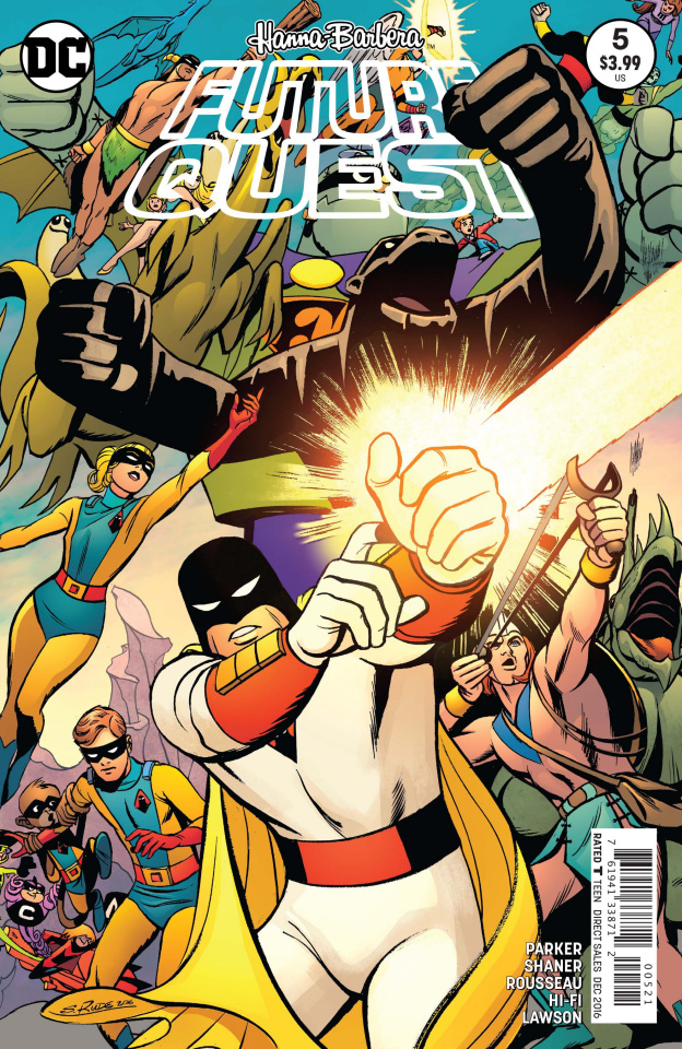 Future Quest #5 (Variant Cover)