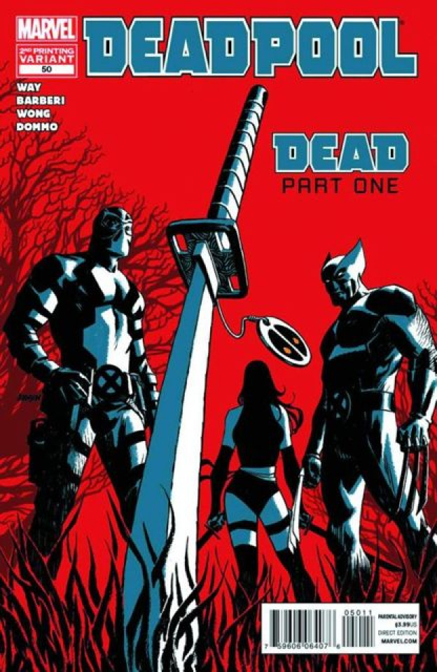 Deadpool #50 (2nd Printing)