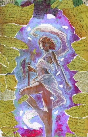 Buffy the Vampire Slayer: Willow Wonderland #4 (Mack Cover)