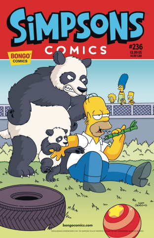 Simpsons Comics #236