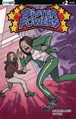 Sister Powers #2 (Jerry Bennet Cover)