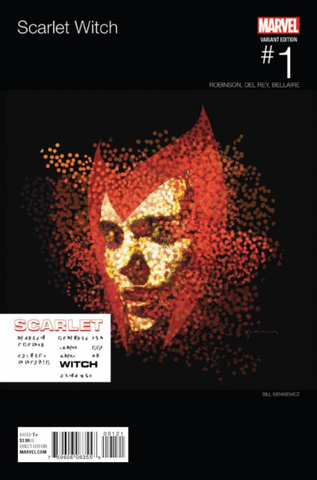 Scarlet Witch #1 (Sienkiewicz Hip Hop Cover)