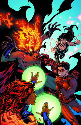 Convergence: Titans #2