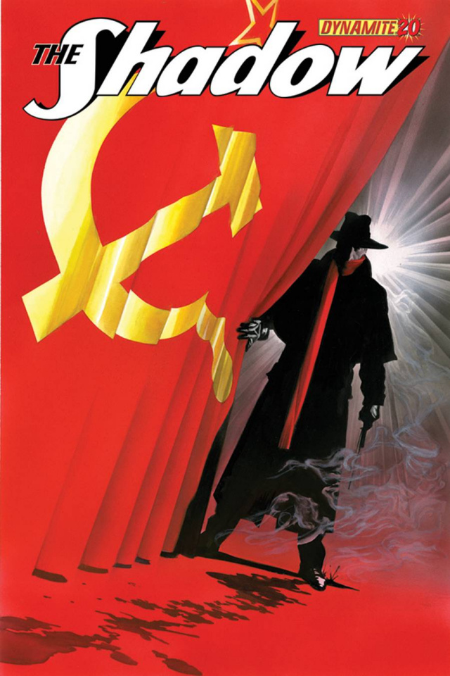The Shadow #20 (Ross Cover)
