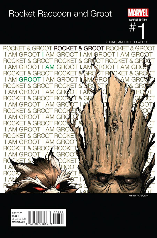 Rocket Raccoon and Groot #1 (Randolph Hip Hop Cover)