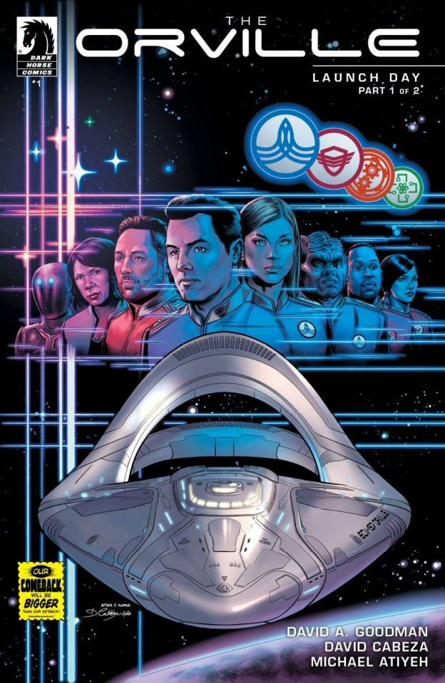 The Orville #1: Launch Day