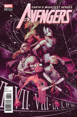 Avengers #3 (Tedesco Cover)