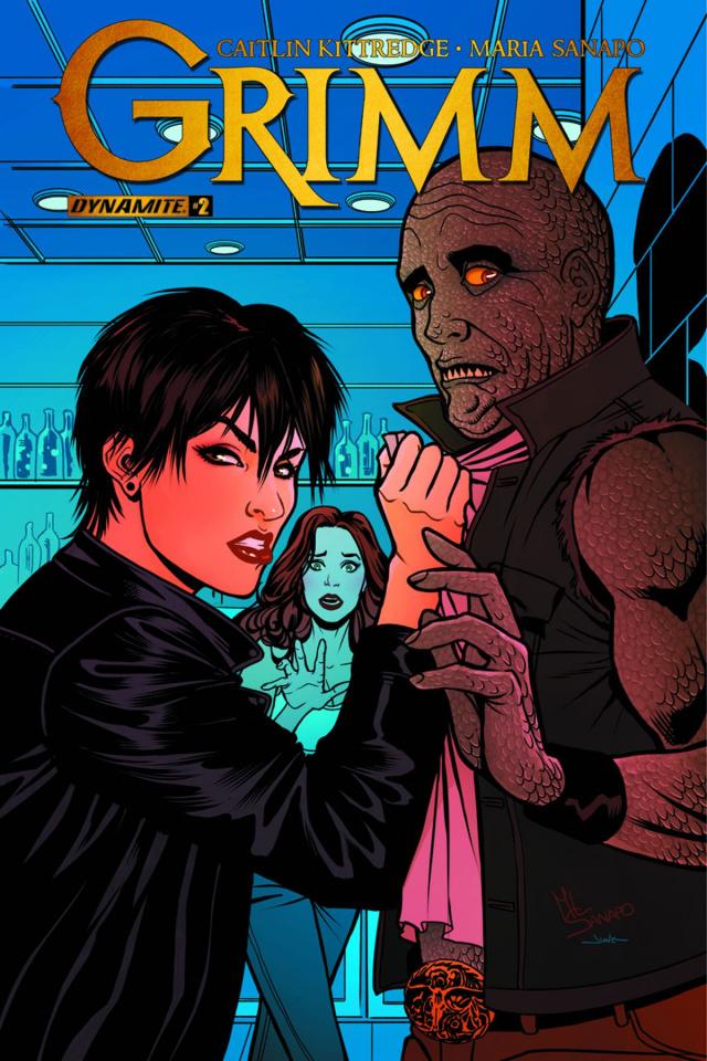 Grimm #2 (Sanapo Cover)