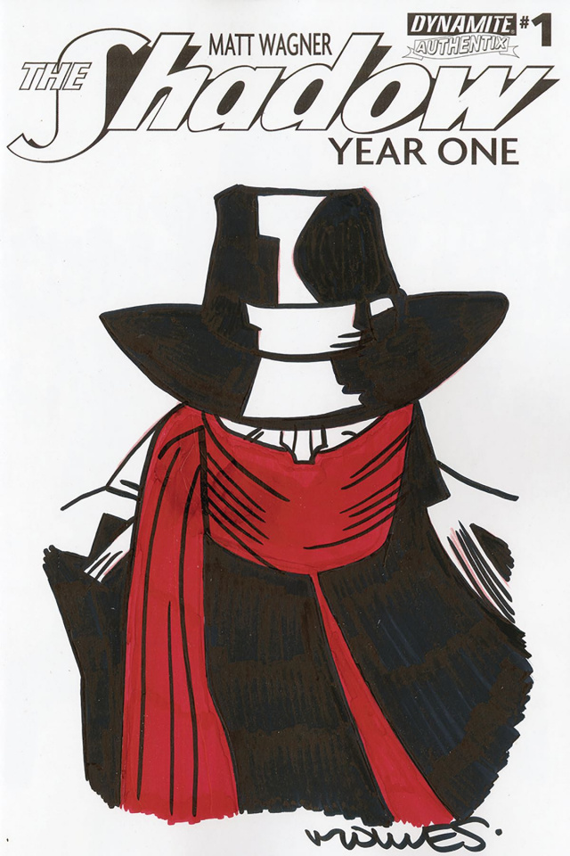 The Shadow: Year One #1 (Torres Cover)