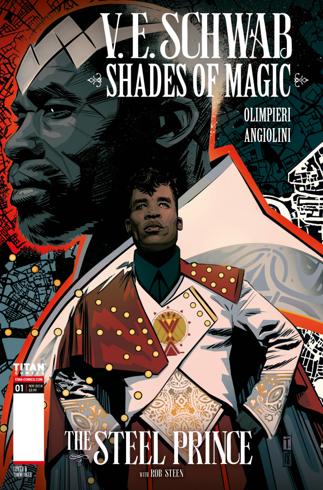 Shades of Magic #1 (Coker Cover)