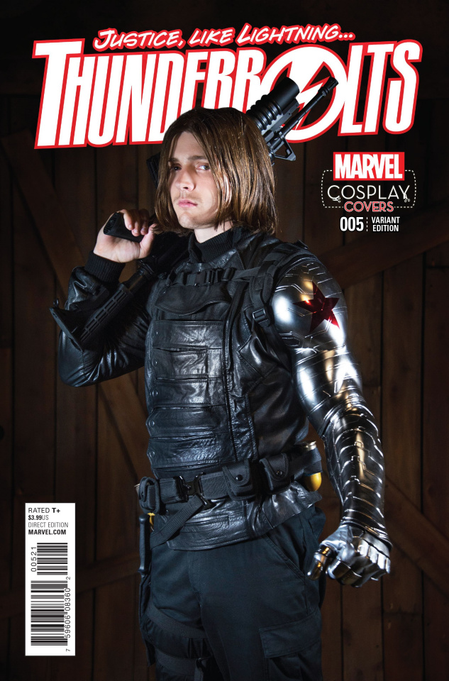 Thunderbolts #5 (Cosplay Cover)