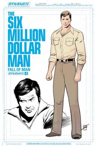 The Six Million Dollar Man: Fall of Man #1 (10 Copy Cover)