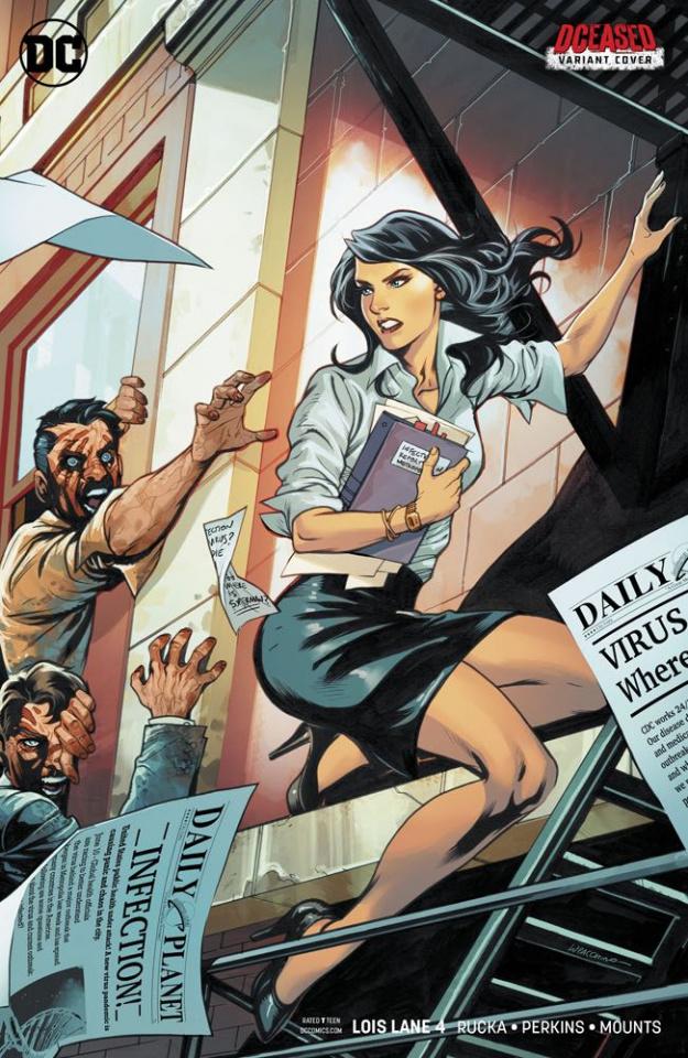 Lois Lane #4 (Variant Cover)