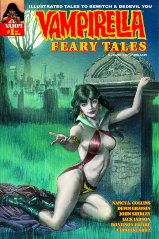 Vampirella: Feary Tales #1 (Roach Subscription Cover)