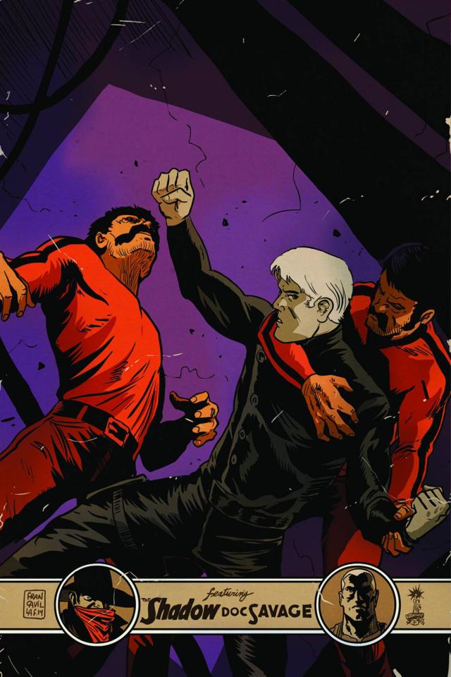 Justice, Inc. #5 (25 Copy Francavilla Virgin Cover)