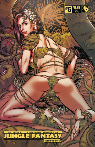 Jungle Fantasy: Survivors #6 (Flora Cheeky Cover)