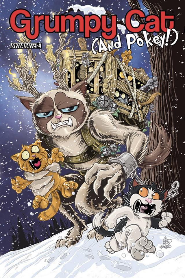 Grumpy Cat (and Pokey!) #4 (Haeser Cover)