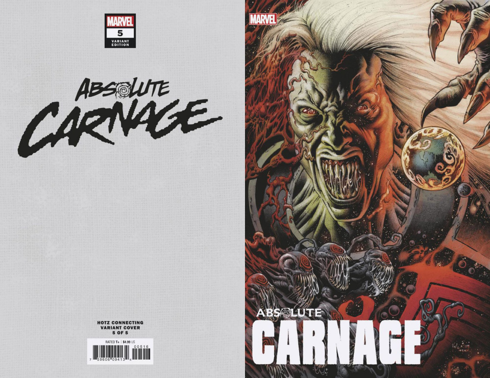 Absolute Carnage #5 (Hotz Connecting Cover)